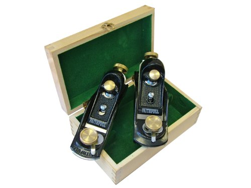 - Faithfull 9.1/2 & 60.1/2 Block Planes in Wooden Box