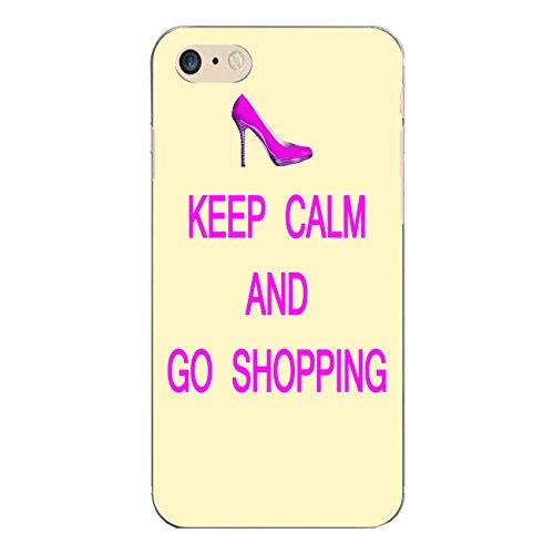 "Disagu Design Case Schutzhülle für Apple iPhone 7 Hülle Cover - Motiv ""KEEP CALM AND GO SHOPPING"""