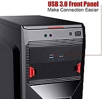 Mzhou Tarjeta PCIe USB 3.0 de 7 puertos, 5 puertos USB 3.0 y 2 tarjetas de expansión PCIe USB 3.0 traseras que incluyen bahía de expansión de panel ...