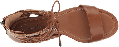 Umber Women's Lourra Simpson Sandal Burnt Jessica Wedge 5TZYxEqnw