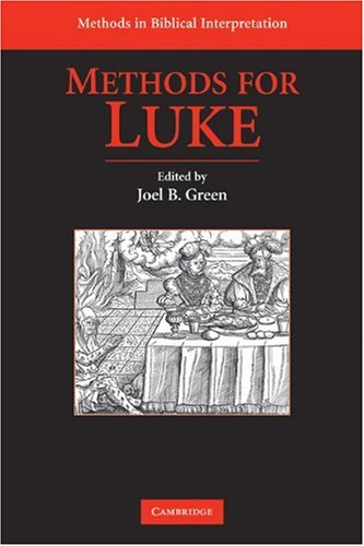 Download Methods for Luke (Methods in Biblical Interpretation) Pdf