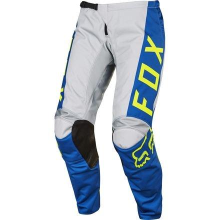 Bke Leather (2017 Fox Racing Womens 180 Pants-Grey/Blue-6)