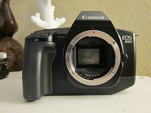 - Canon EOS 650 SLR 35mm Camera Body 1987 Model