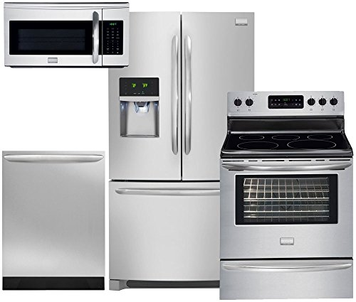 Frigidaire Gallery 4-Piece Smudge-Proof Stainless Steel Kitc