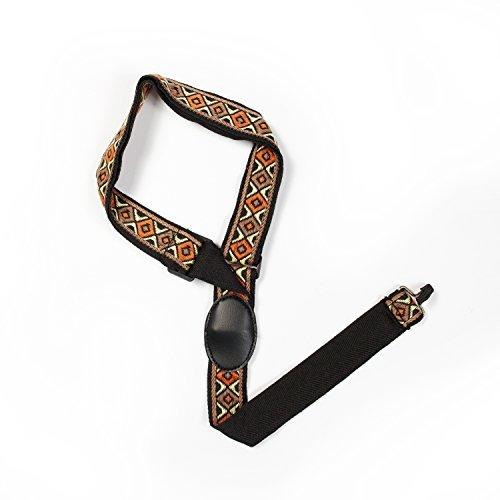 Makanu Ukulele Strap Colorful Hawaiian Clip On Sling Adjustable Country Style Sling