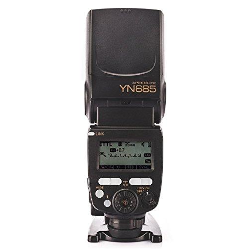 Yongnuo YN685 Camera Speedlight Flash for Nikon DSLR Cameras with WINGONEER Flash