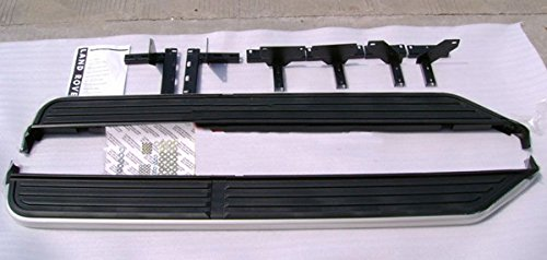 (Liquor Car New for Land Rover Discovery LR3 LR4 2005 2006 2007 2008 2009 2010 2011 2012 2013 Aluminum Alloy with Plastic Doors Side Doors Running Step Board Bar Set)