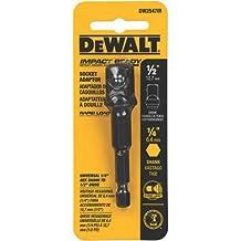 DEWALT DW2547Ir 1/4-Inch Hex Shank To 1/2-Inch Socket Adaptor