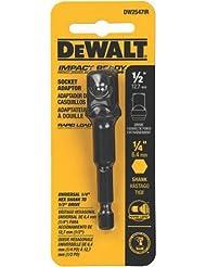 DEWALT DW2547Ir 1/4-Inch Hex Shank To 1/2-Inch IMPACT READY Socket Adaptor