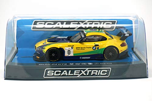 Slot Car Brands - Scalextric C3721 BMW Z4 GT3 Blancpain Series Brands Hatch 2015 Slot Car (1:32 Scale)