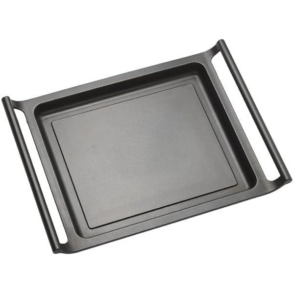 BRA - Plancha asador con Rayas y Asas de Silicona,Aluminio ...
