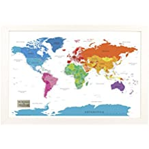 Framed Us Map With Pins - Personalized us travel map