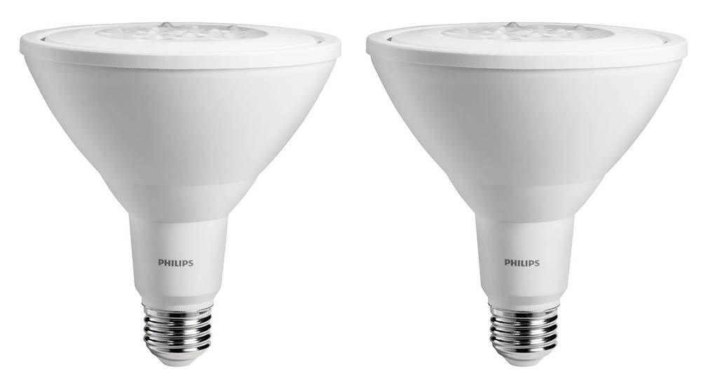 Philips led indooroutdoor flood bulb 2 pack 90 watt equivalent philips led indooroutdoor flood bulb 2 pack 90 watt equivalent bright white 3000k par38 non dimmable medium screw base amazon audiocablefo