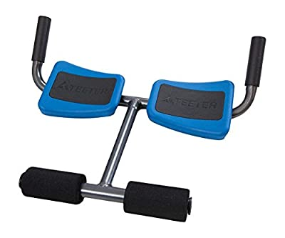 Teeter P2 Back Stretcher, Black/Blue