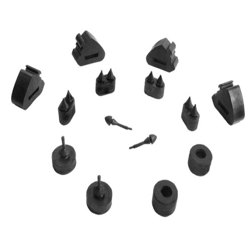 Metro Moulded Parts SBK 207 14-Piece Snap-In Bumper Kit
