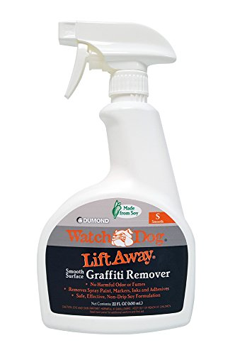 Dumond Chemicals, Inc. 8216N Watch Dog Lift Away Soy-Based Smooth Surface Graffiti Remover, 22 Ounce ()