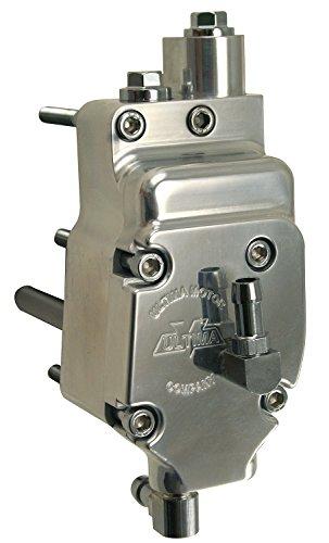 Ultima High Output Polished Oil Pump 1992 & Later Big Twin Models, (98 Big Twin Models)