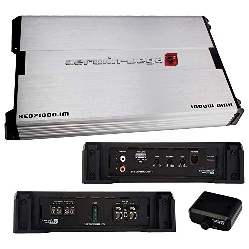 Cerwin-Vega Mobile XED71000.1M XED Series Class AB Amp (Monoblock, 1,000W)