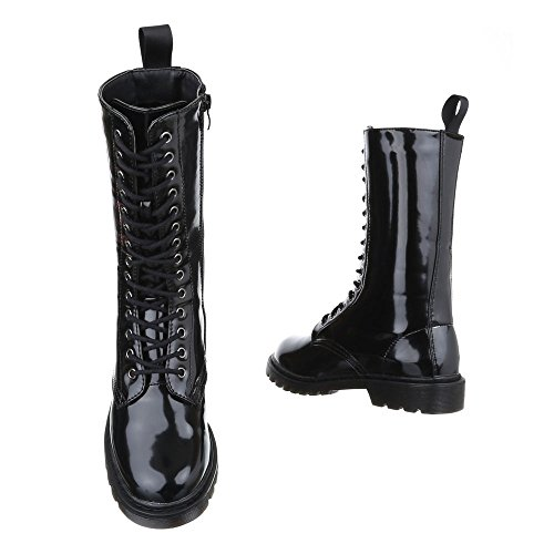 Ital-Design - botas clásicas Mujer Schwarz FC-H05