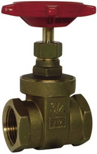 Red-White Valve 112RW206AB Lead Free Commercial Gate Valve Threaded, 1 1/2''