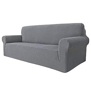 MAXIJIN Housse de canapé Extensible pour canapé 3 Places, 1 pièce Housses de canapé universelles Salon Jacquard Meubles…