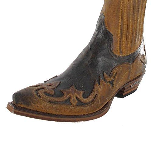 Sendra Boots Mens 4660 Cowboy Boots Brown - Camello pyxItc1