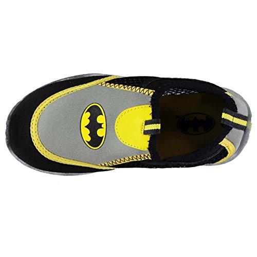 Character Niños Aqua Zapatos Calzado Casual Zapatillas con Cordones Batman C8 (25.5)