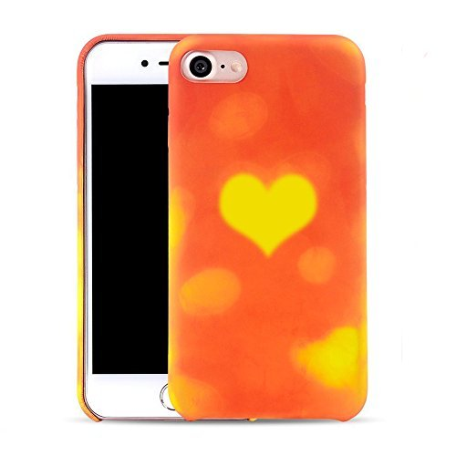 3 opinioni per Magical Heat Sensitive PU Back Custodia per iPhone 5/5S/SE, Skitic Moda