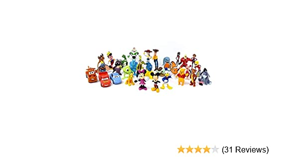 The Lakeside Collection 30-Pc Disney Figurine Set SG/_B07HHDMBDY/_US