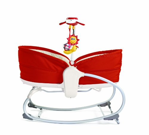 Tiny Love 3 in 1 Rocker Napper, Red For Sale