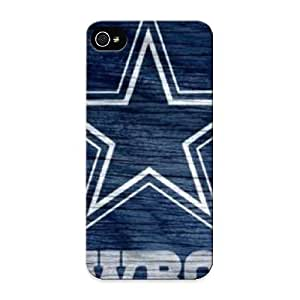Graceyou Hot Tpye Dallas Cowboys Blue Logo Weathered Wood Case Cover For Iphone 6 plus 5.5 For Christmas Day's Gifts by kobestar