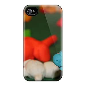 Iphone Case - Tpu Case Protective For Iphone 4/4s- Play Doh Animal Farm