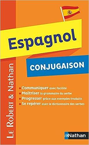Le Robert Et Nathan Espagnol Conjugaison Rob Et Nath Langues Ɯ¬ ɀšè²© Amazon