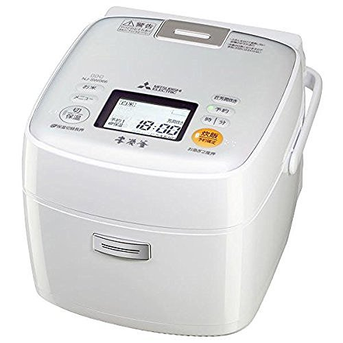 三菱電機 IHジャー炊飯器 本炭釜 3.5合炊き ピュアホワイト NJ-SW066-W   B00SQSUE8G
