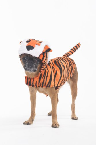 Fashion Pet Halloween Tiger Costume for Dogs, (Tiger Costume For Dog)