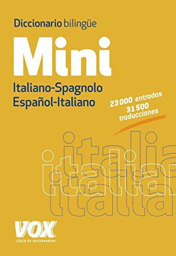 Descargar Libro Diccionario Mini. Español-italiano. Italiano-spagnolo Larousse Editorial