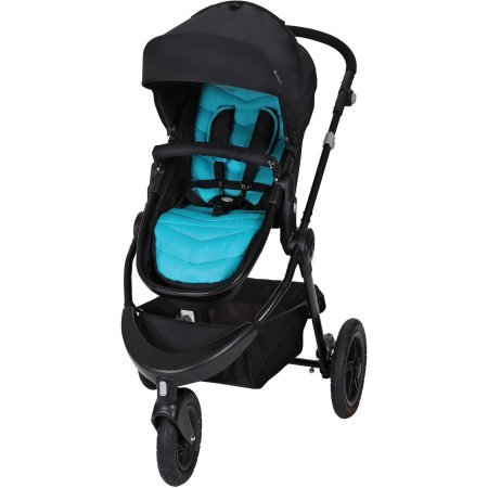 Baby Trend Debut 3-Wheel Stroller, Cascade (3 Wheel Strollers compare prices)