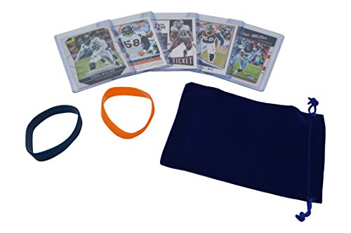 Von Miller Football Cards Assorted (5) Bundle - Denver Broncos Trading Cards
