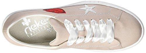 Sneakers EU Basses L59g4 Rieker 42 Rot Femme Rosa 67H5cxqwcR