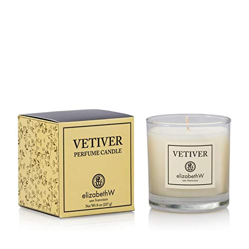 elizabethW Vetiver Soy Jar Candle