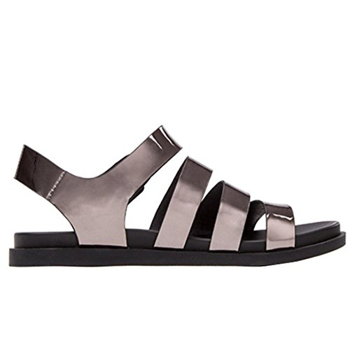 huge surprise Sandals female summer new flat street wind solid color with multiple casual shoes 09 gray cheap sale many kinds of free shipping cheap price 8seRv92