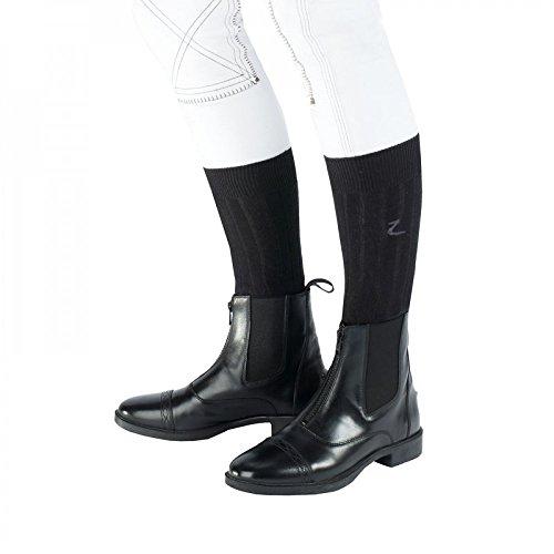 BL Jodhpur Horze Zip Boots Black Front wq4qSFX7