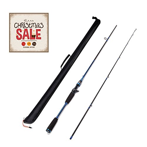 Entsport sirius 2 piece 7 feet casting rod graphite for Amazon fishing rods