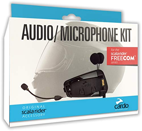 Cardo Scala Rider SRAK0035 Audio and Microphone Kit for Freecom Models, 1 Pack