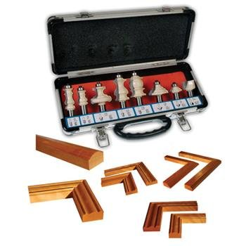 8 Pc Molding And Picture Frame Router Bit Set-Shank: Amazon.ca ...