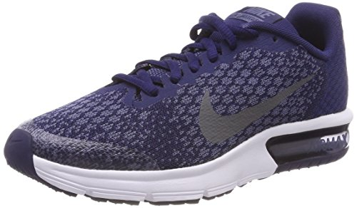 Sequent Chaussures 405 Garçon 2 Dark Gre EU Blue Bleu Gris Air Gymnastique GS Nike Max Binary de Noir x1wE8TFnS