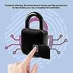 Rosvola-Lucchetto-Intelligente-per-Impronte-digitali-Serratura-Impermeabile-Senza-Chiave-antifurto-di-Sicurezza-per-la-casa-allaperto