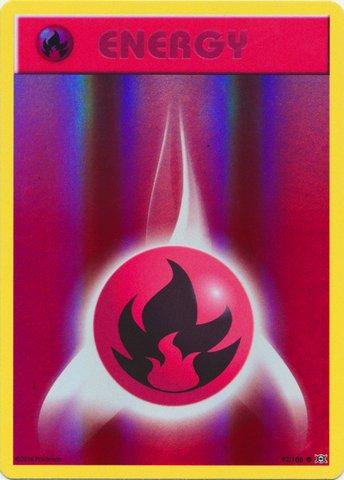 Pokemon - Fire Energy (92/108) - XY Evolutions - Reverse ()