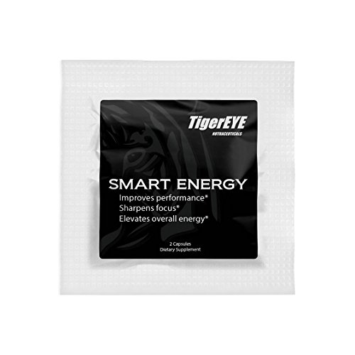 Smart Energy: New Caffeine with L-Theanine (5 Packs of 2) for Powerful Energy, Focus & Clarity- #1 Ranked Cognitive Performance Stack-Proven No Jitters-Natural-Caffeine 100mg, L-Theanine 200mg