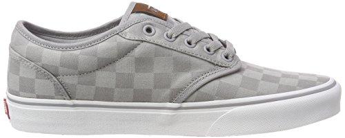 Check Atwood Jacquard da Alloy Vans Grigio Checkerboard Scarpe Rd3 White Ginnastica Basse Uomo 8wqSd